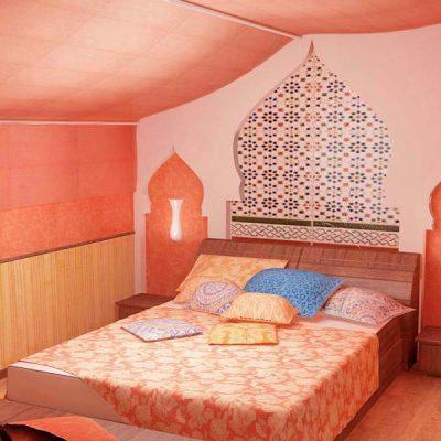 Индийский стиль зарядит вашу спальню энергией