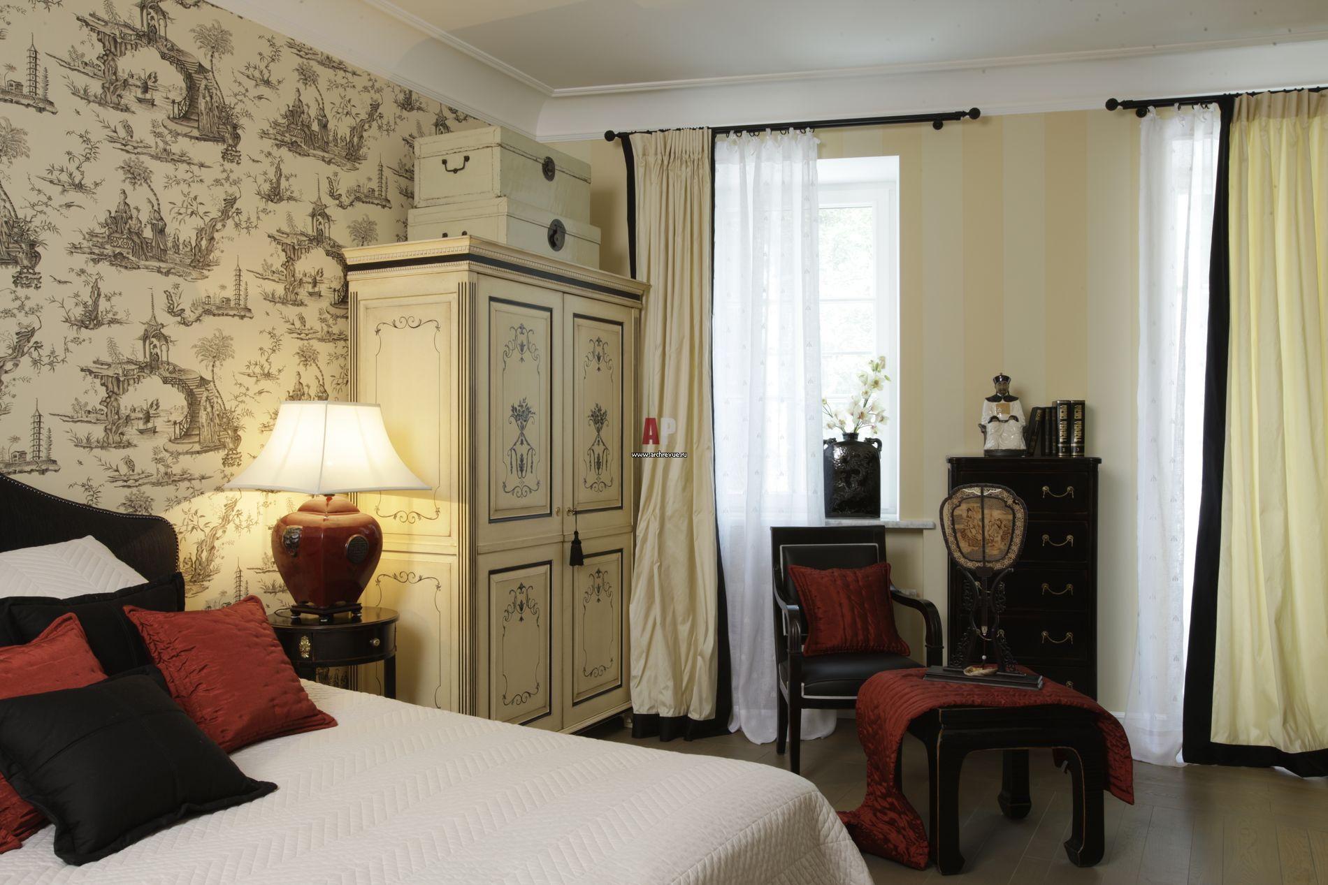 Интерьер гостиной ампир фото