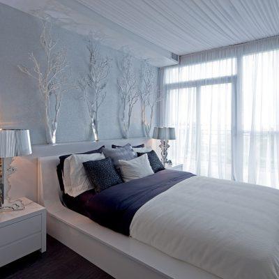 Как оформить белую спальню в морском стиле