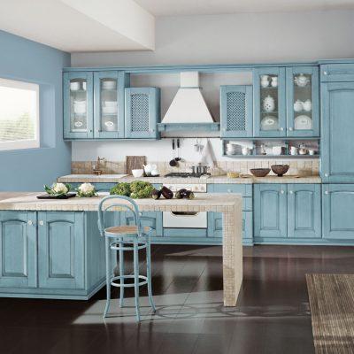 Как подобрать голубой цвет в интерьере