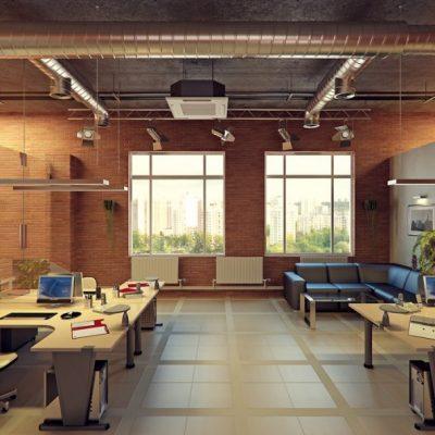 Классный дизайн офиса