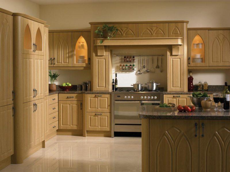 Кухня в романском стиле фото