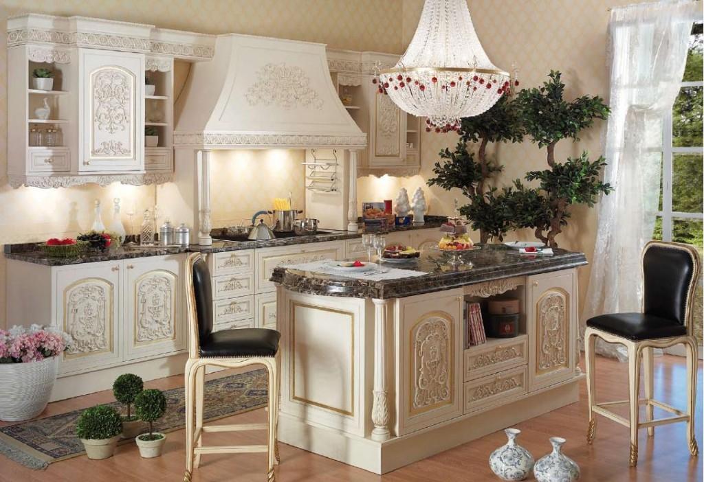 Праздник каждый день: кухня в стиле рококо