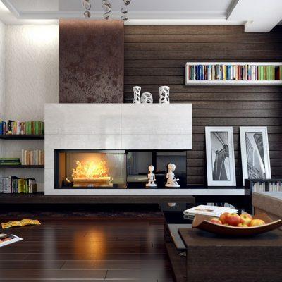 Лучший дизайн гостиной