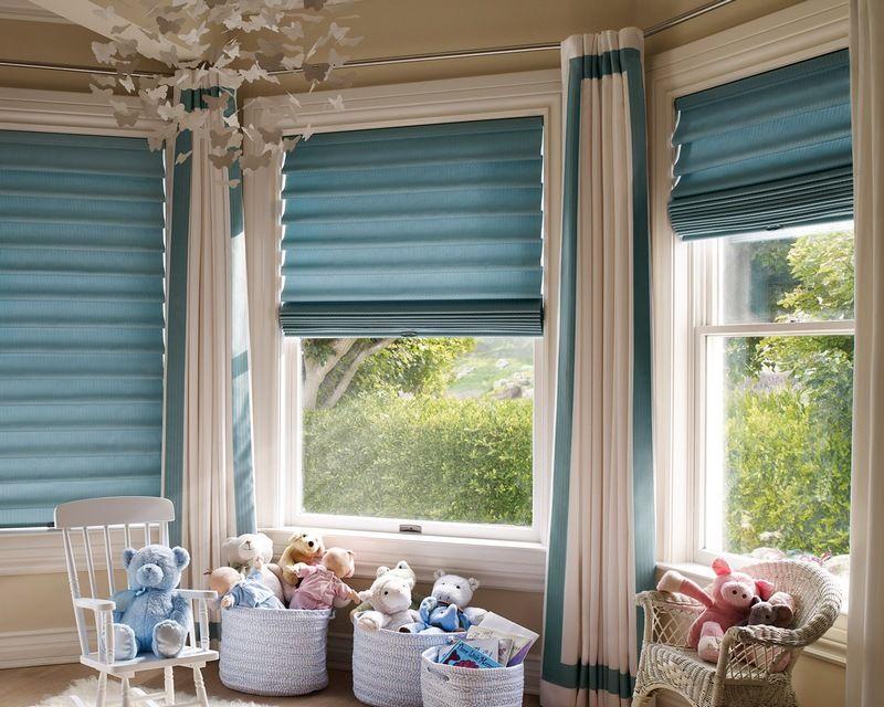 Оригинальные шторы для детской