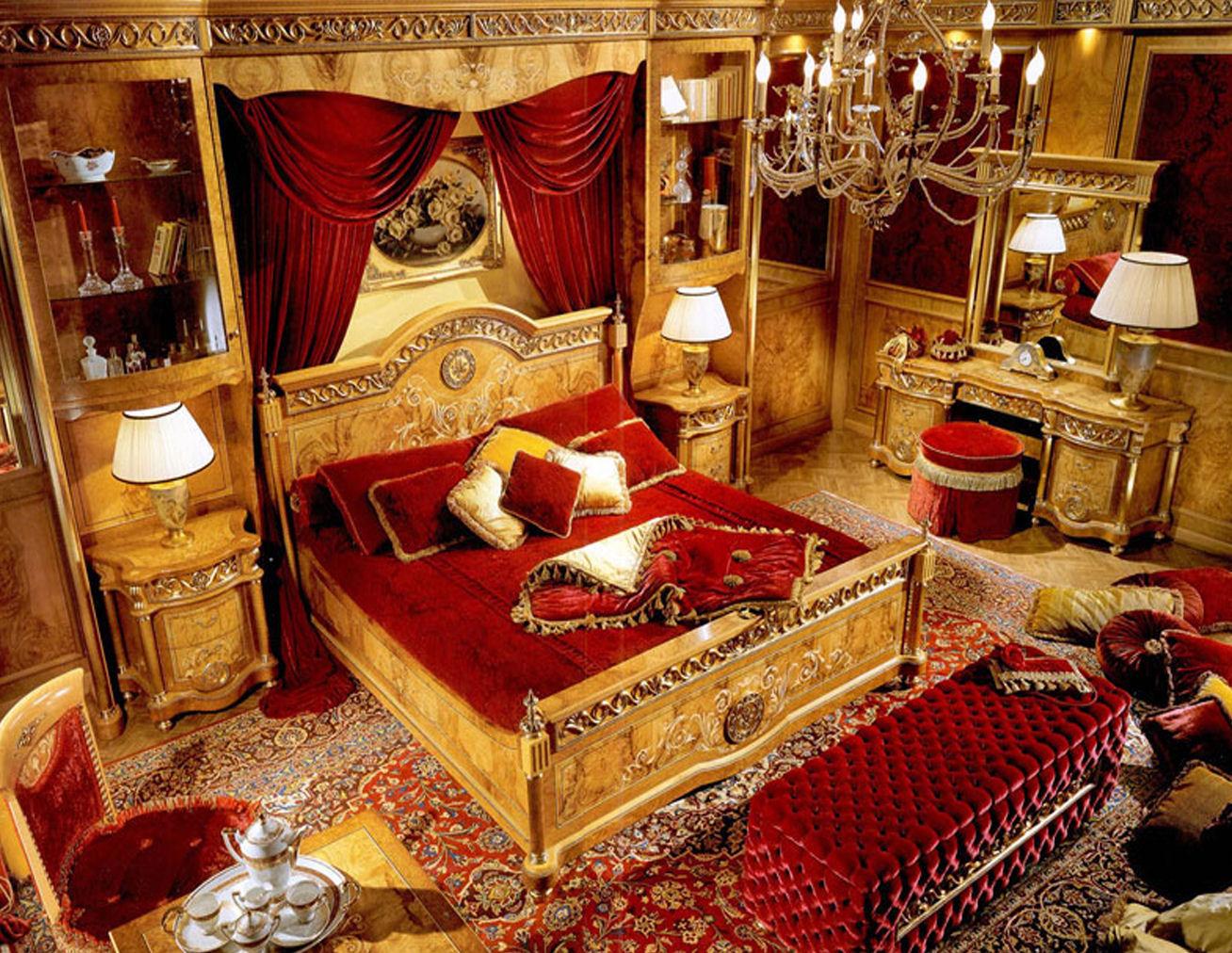 Предметы декора спальни
