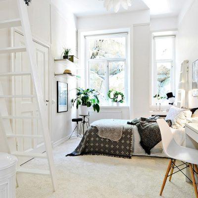 Комната для подростка в скандинавском стиле