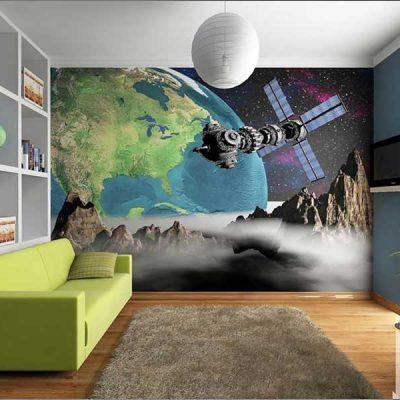 Современные фотообои в интерьере квартиры