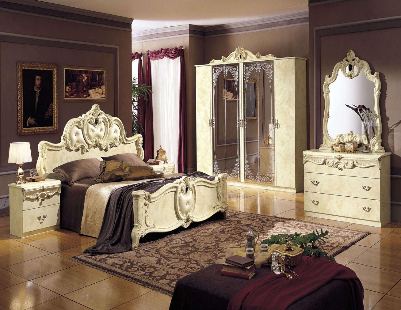 Спальня в стиле ренессанс: обращение к наследию античности