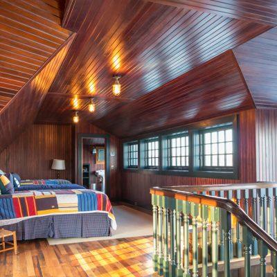 Спальня в морском стиле красивое фото