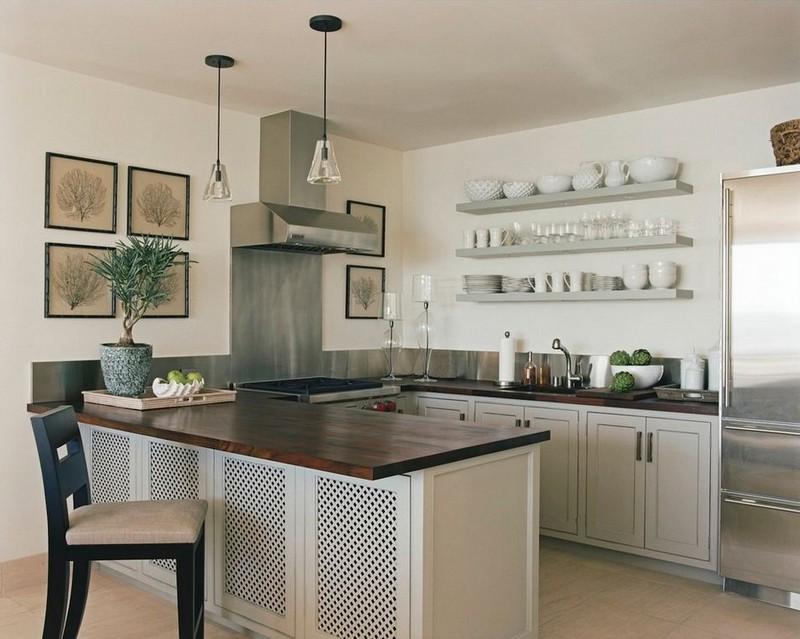 Средиземноморский стиль на кухне фото
