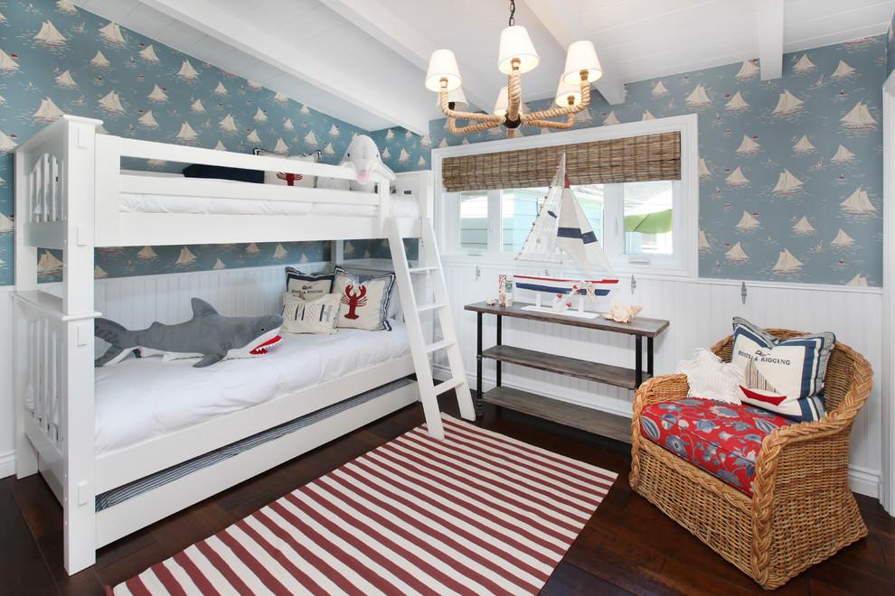 Уютная детская комната в морском стиле