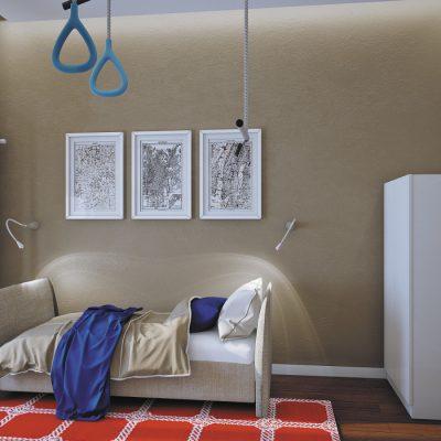 Уникальный дизайн детской комнаты