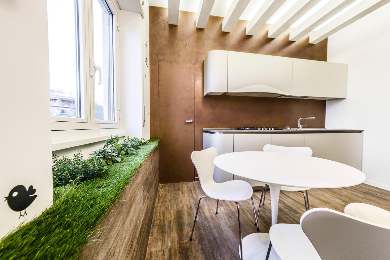 Зелень на кухне