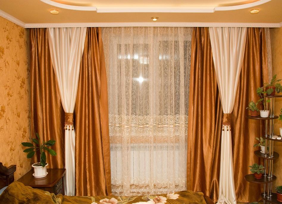 Как сделать потолочные шторы