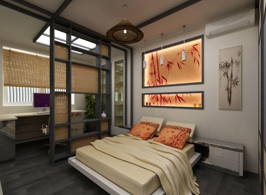 Комната в японском стиле для подростка