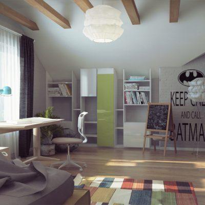 Оформление комнаты для подростка