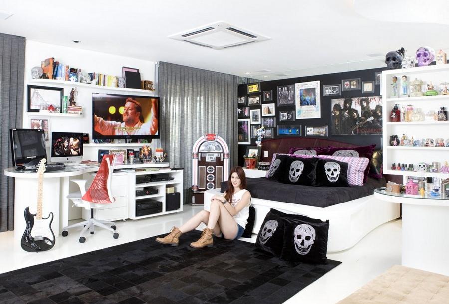 Комната для подростка - гота