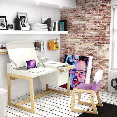 Комната для девочки-подростка в стиле лофт