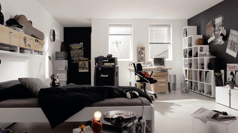 Комната для подростка – гитариста
