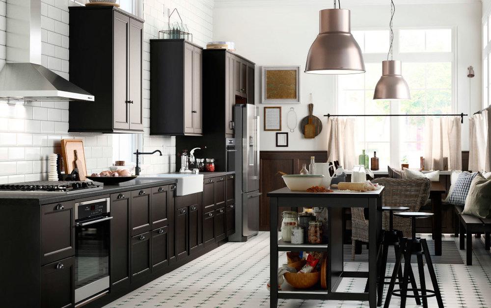 Удобная, функциональная и в то же время уютная кухня