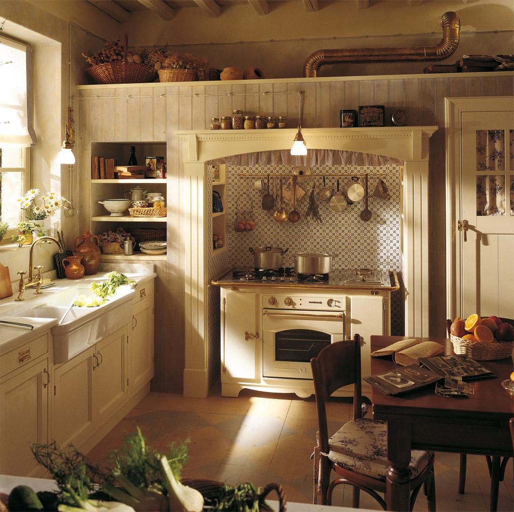 Классический вариант кухни в стиле прованс