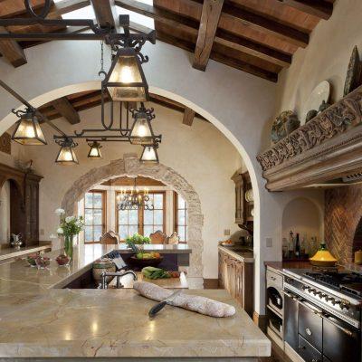 Деревенская кухня в стиле прованс