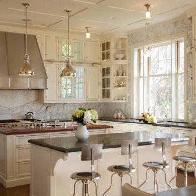 Современное оформление кухни в стиле прованс