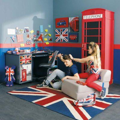 Комната для подростка в стиле Лондон