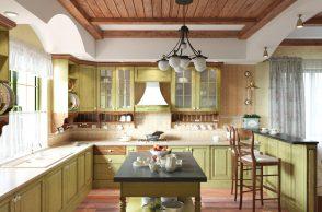 Люстра на кухню в стиле прованс