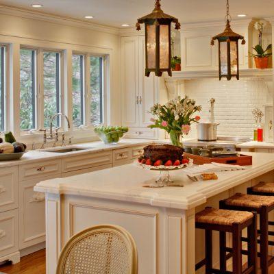 Люстры под старину на кухню в стиле прованс