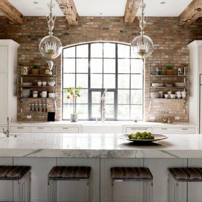 Необычные люстры на кухню в стиле прованс