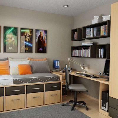 Маленькая комната для подростка