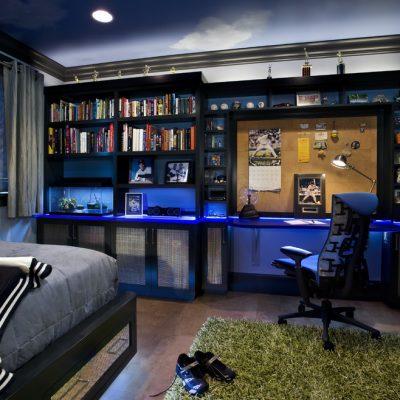 Подсветка в комнате для подростка