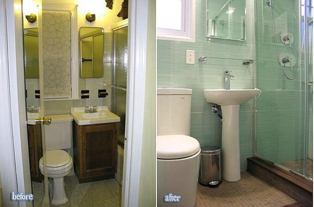 Если Ваша ванная небольших размеров, стоит отказаться от громоздких тумб