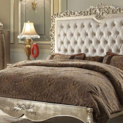 Фото спальни в стиле рококо