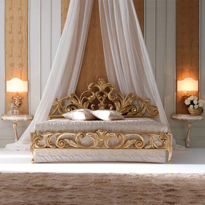 Балдахин для кровати рококо