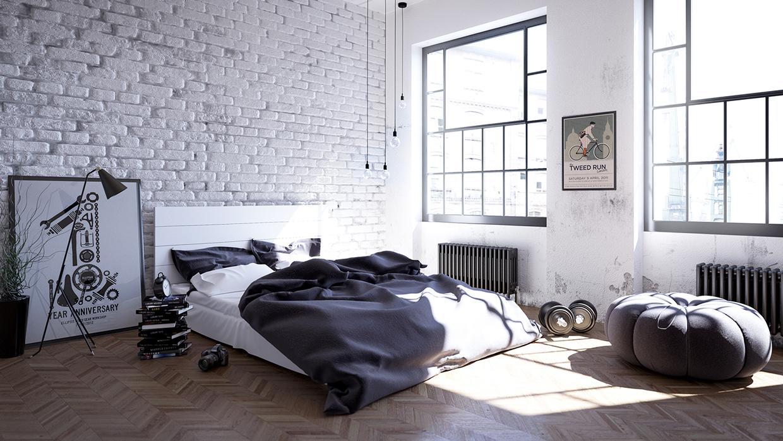 Спальня в скандинавском стиле: советы по оформлению