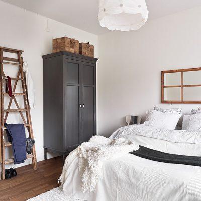 Фото спальни в скандинавском стиле
