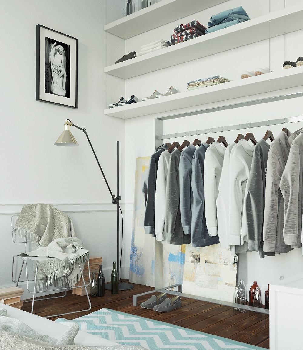 Открытая система хранения одежды