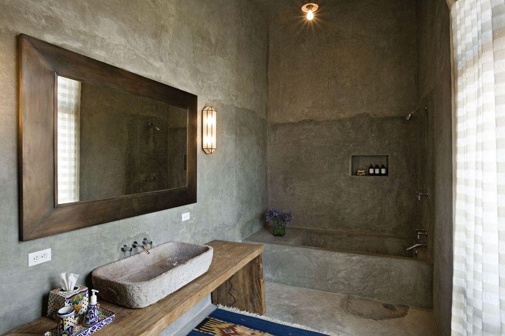 Греческий стиль оформления ванной
