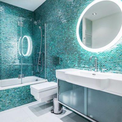 Необычная ванная в морском стиле