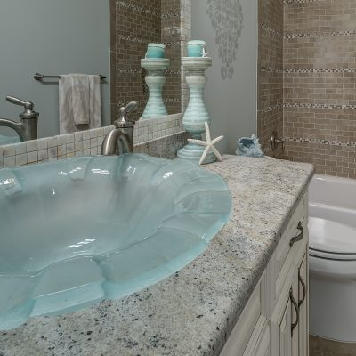 Раковина для ванной в морском стиле