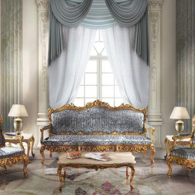 Мебель серого цвета на фото