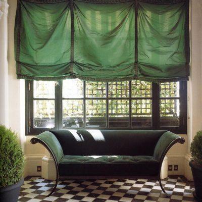 Каскадные римские шторы бескаркасные