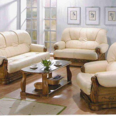 Мебель из кожи