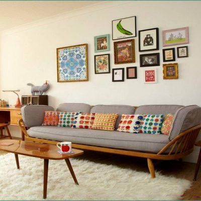 Интересное сочетание мебели