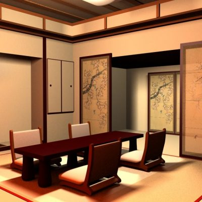 Японская столовая