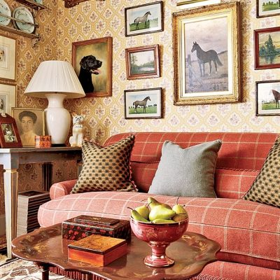 Английский стиль в интерьере: гостиная