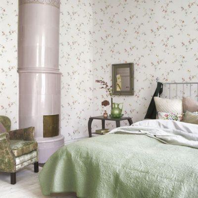 Белая спальня в английском стиле